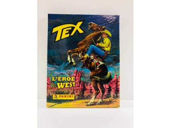 Album Cartonato Sigillato Tex l Eroe del West + Cartolina e