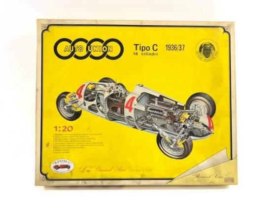 Auto Union Tipo C 1/20 Scale  REVIVAL