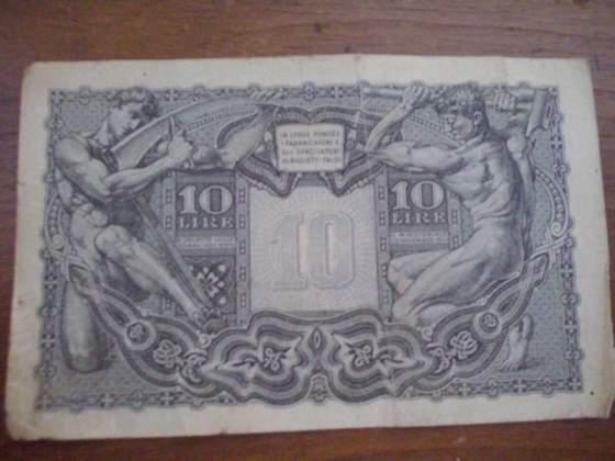 Banconota 10 Lire del