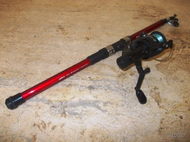 Canna da pesca caperlan oxylane essential lure