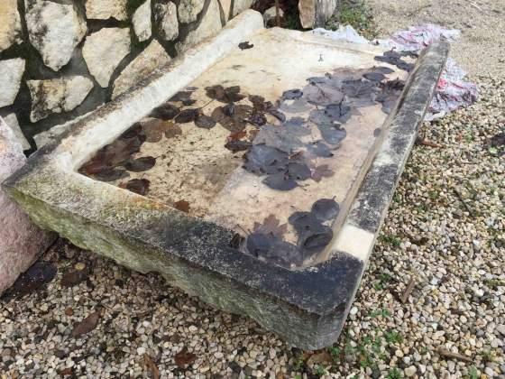 Lavabo seciaro lavello in pietra