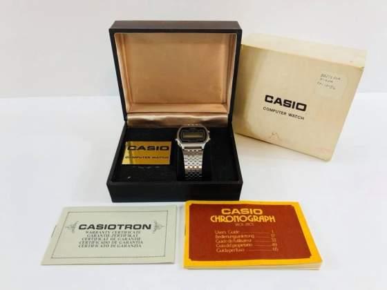 Orologio da Polso Casio Chronograph Casiotron + Scatola