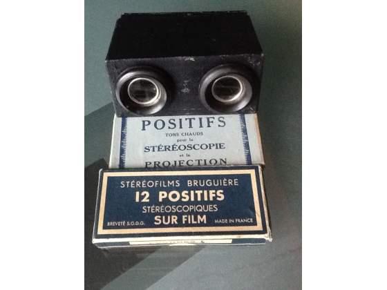 Raro visore/stereoscopio, anni'50, per stereofilms