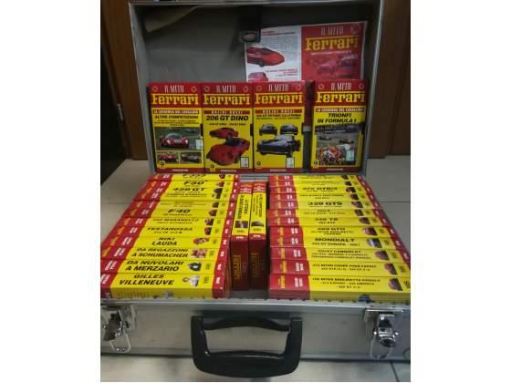 """VHS """" Il mito Ferrari"""""""