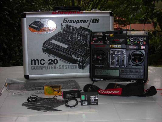 Vendo MC 20 GRAUPNER da amatore perfettamente funzionante in