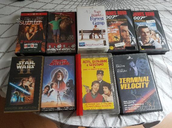 9 film videocassette vhs