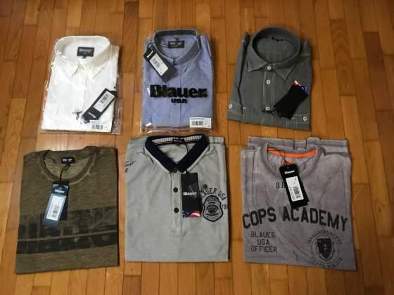 Camicie e t-shirt BLAUER tg 3XL nuove