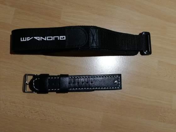 Due cinturini Quondam nuovi per anse da 22 mm