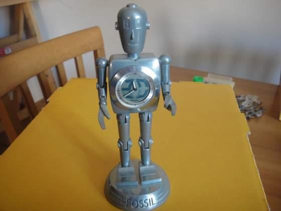 Fossil Big Tic Robot Clock orologio vintage