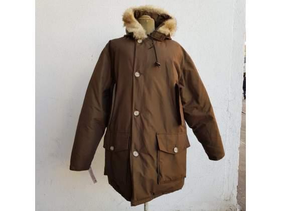 Giubbotto uomo woolrich marrone