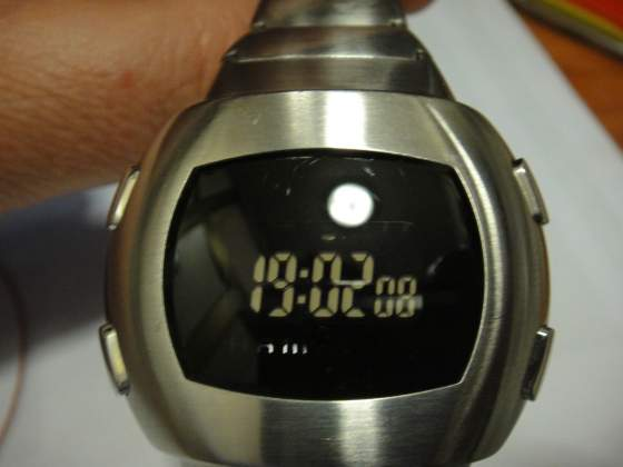 HAMILTON orologio vintage lcd digital
