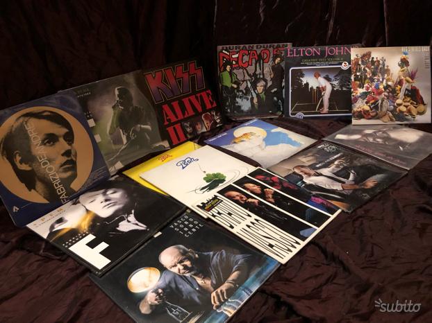 Lotto dischi in vinile 33 giri vintage