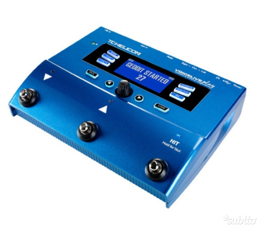 Tc Helicon play voice live
