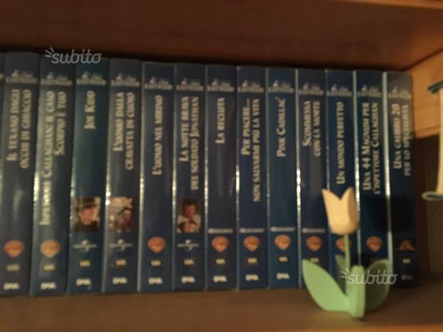 VHS collezione film Clint Eastwood 30 titoli