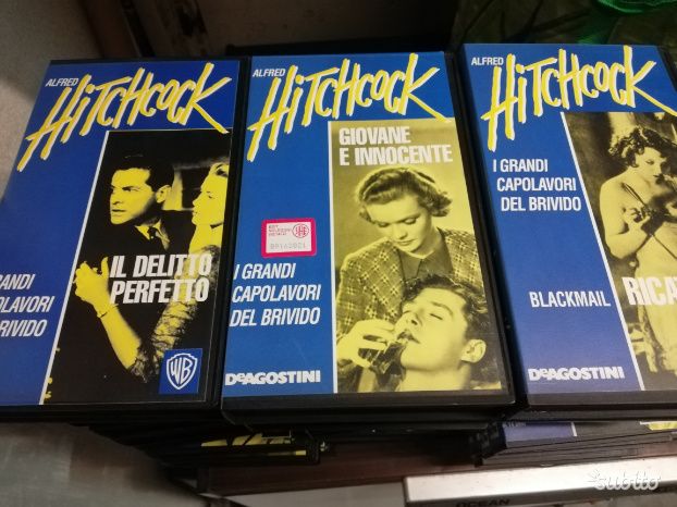 Vhs alfred hitchcock