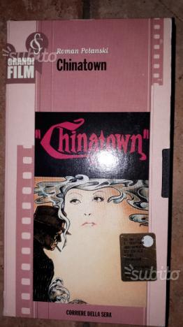 Vhs roman polanski, chinatown