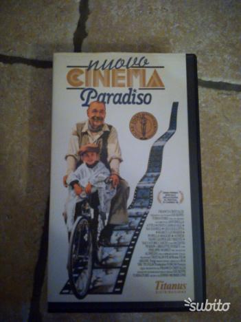 Videocassetta nuovo cinema paradiso