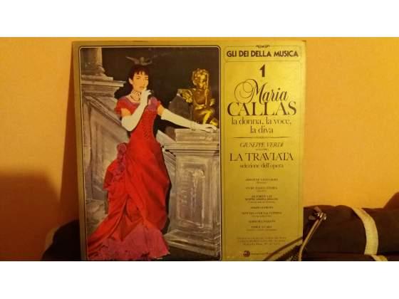 Disco 33 giri Maria Callas La Traviata raro vinile a Torino