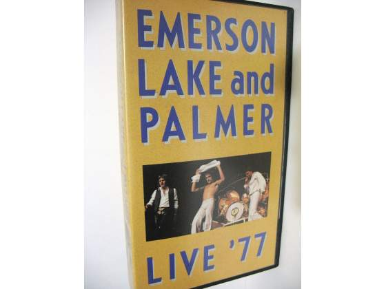Emerson Lake & Palmer - lotto 3 x VHS - L@@K