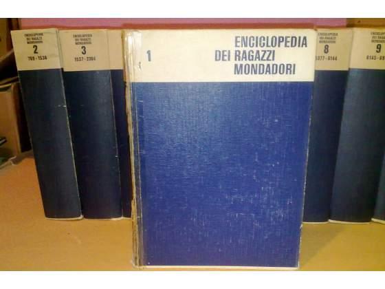 Enciclopedia dei ragazzi mondadori 10 volumi