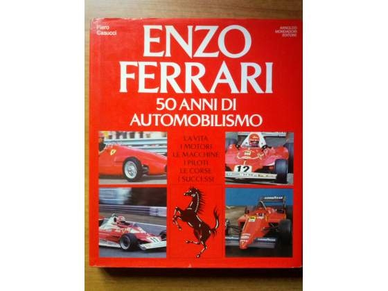 Enzo Ferrari, libri vari