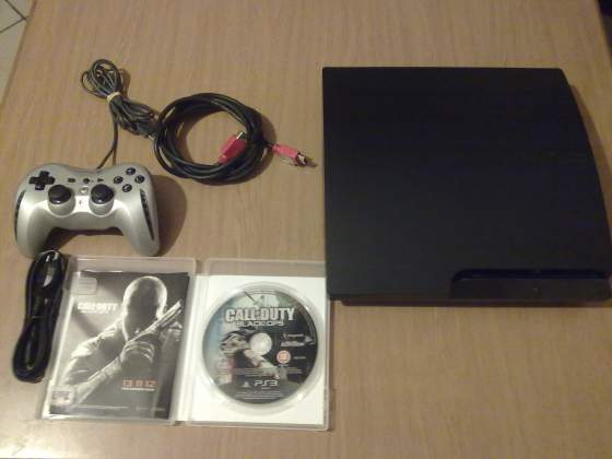 PS3 slim 500 giga hdmi +call of duty black ops