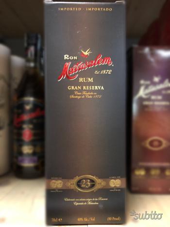 Rum Matusalem 23 anni