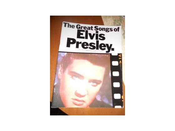 The great songs of elvis presley libro spartiti