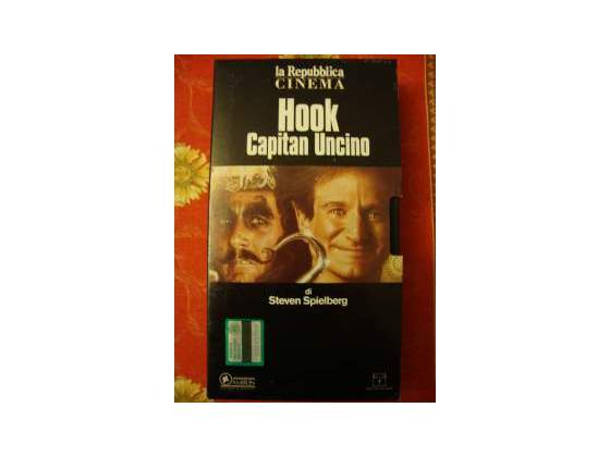 "Vhs ""Hook capitan Uncino"" di S.Spielberg"