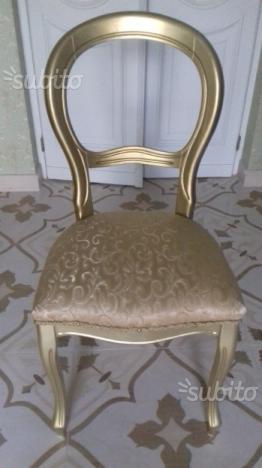 Sedie o poltrone antiche Luigi Filippo