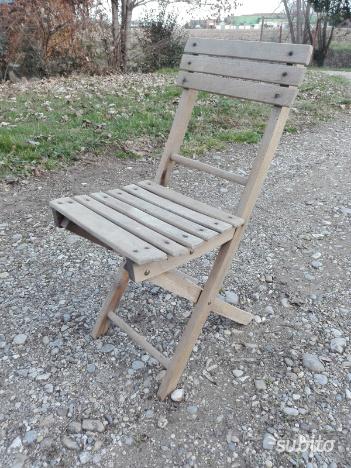 Set 6 sedie anni 60