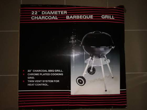 Barbecue a carbone 22'' diametro