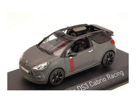 Citroen Ds3 Cabrio Racing  Gun Grey 1:43 Norev NV
