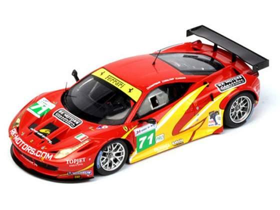 FERRARI 458 ITALIA GT2 #71 AF CORSE 24H Le Mans  TRUE