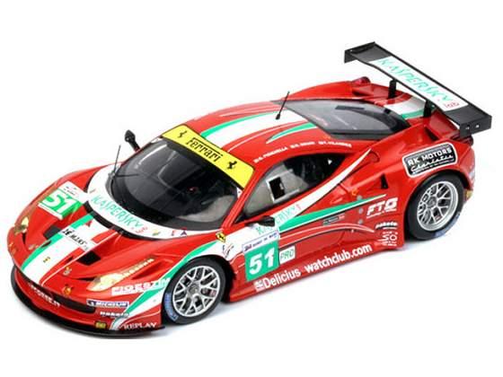 Ferrari 458 Italia Gt2 #51 Fisichella Le Mans  True