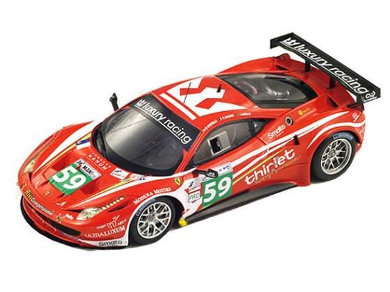 Ferrari 458 Italia Gt2 #59 Team Luxury Le Mans  True