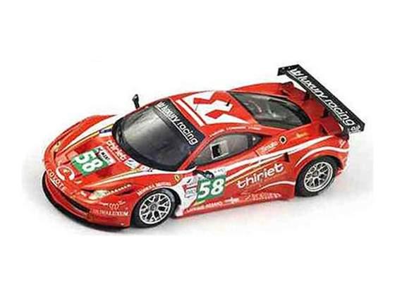 Ferrari 458 italia gt2 #58 team luxury le mans  true