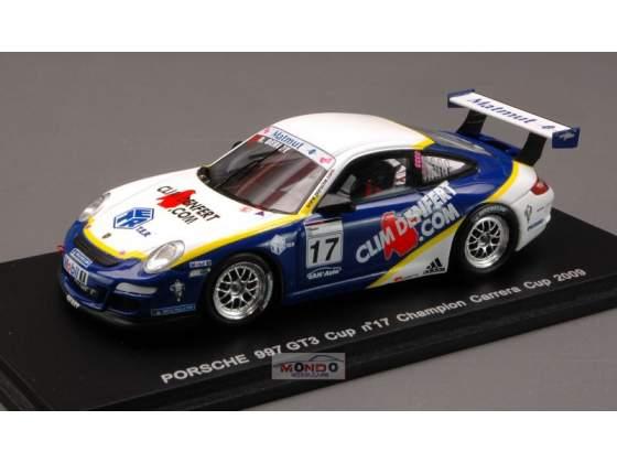 PORSCHE 997 GT #17 CARR.CUP  Spark MX021