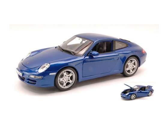 Porsche 911 Carrera S  Metallic Blue 1:18 Maisto