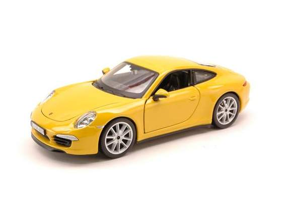 Porsche 911 Carrera S  Yellow 1:24 Burago BUY
