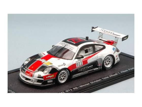 Porsche 911 Gt3 Rs N.911 Winner Division Time Peaks Peak