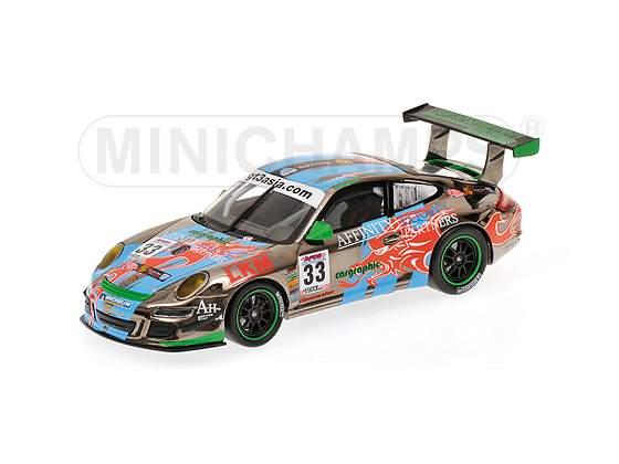 Porsche 911 Gt3 S Winner Gt3 Asia Challenge  Minichamps