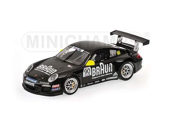 Porsche 911 Gt3 Vip Braun Porsche Supercup  Minichamps