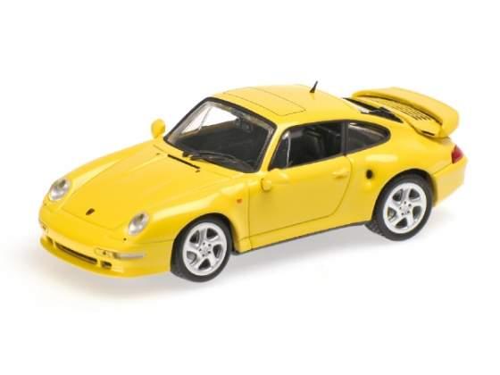 Porsche 911 Turbo S 993 Jubilaumsmodell  Minichamps 1:43