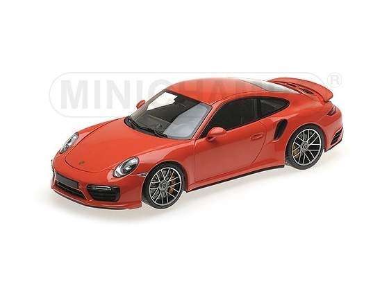 Porsche 911 Turbo S  Orange MINICHAMPS 1:18