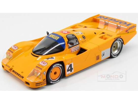 Porsche 962C Team Camel Brun Motorsport #4 24H Le Mans