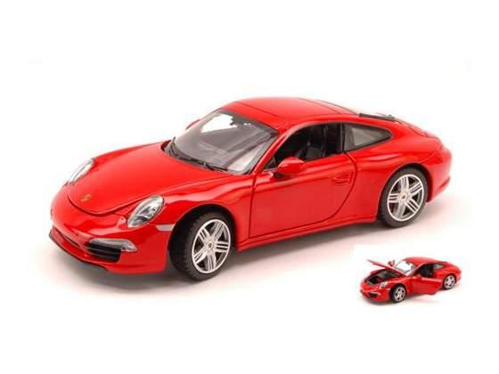 Porsche 991 Carrera S  Red 1:24 Mondo Motors MM