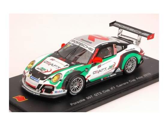 Porsche 997 Gt3 Cup N.7 Carrera Cup Asia  E.Bamber 1:43