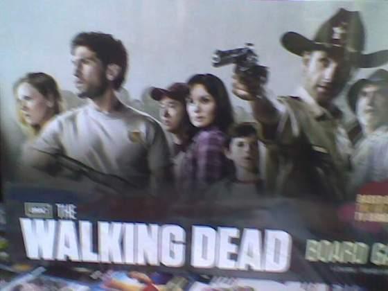 The walking dead gioco da tavolo in inglese non usato