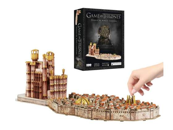 Game of Thrones 3D Puzzle King s Landing (260 pieces)